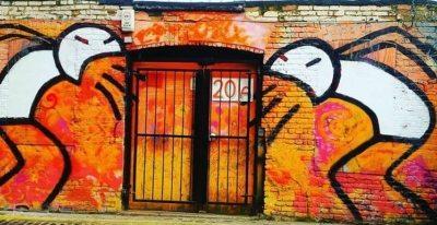 Graffiti artist: Stik