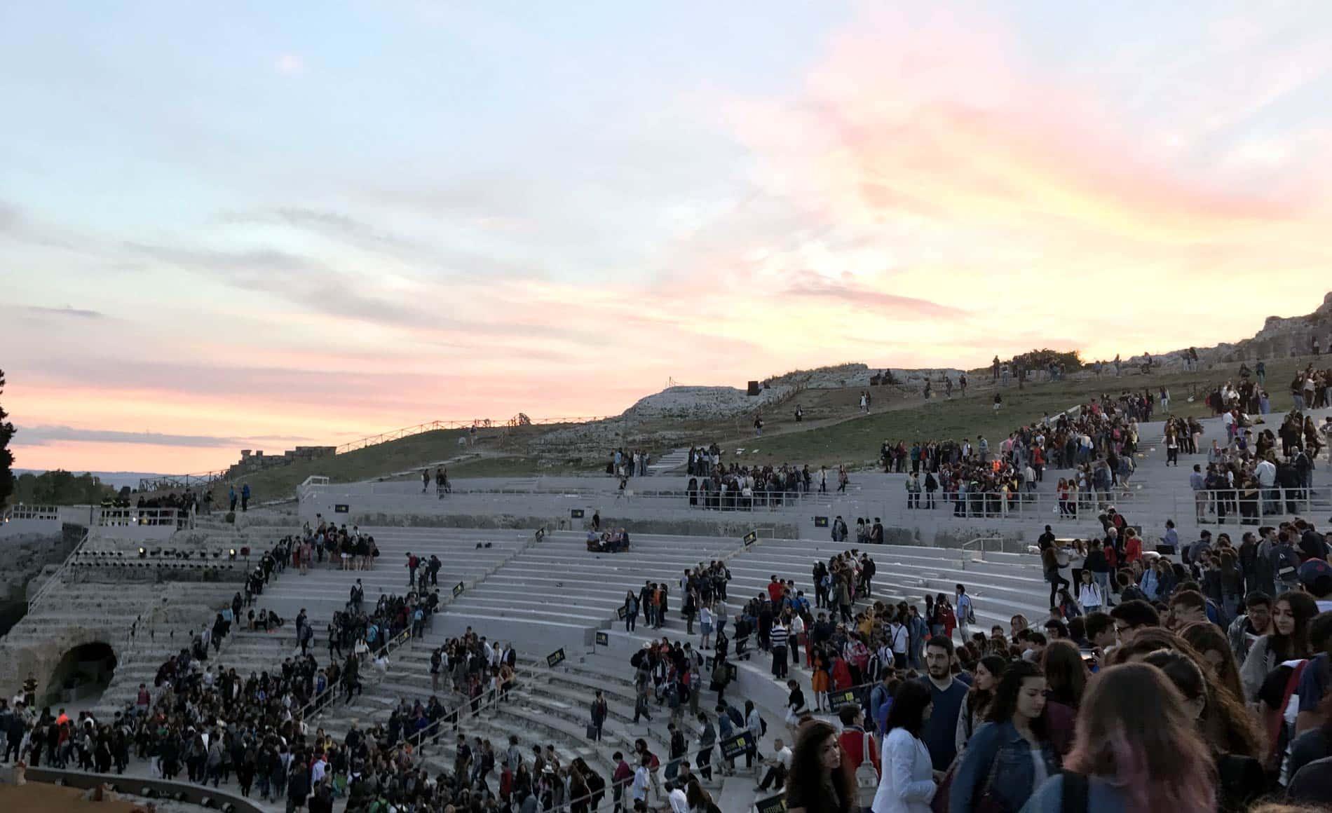 Sette contro Tebe al teatro greco di Siracusa