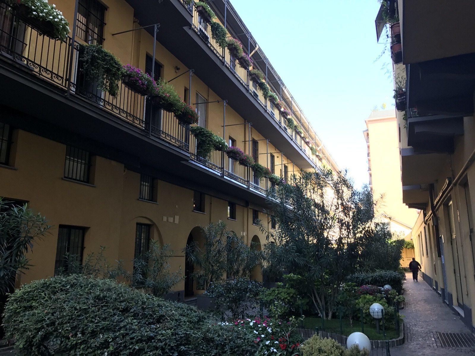 Case a balcone milano