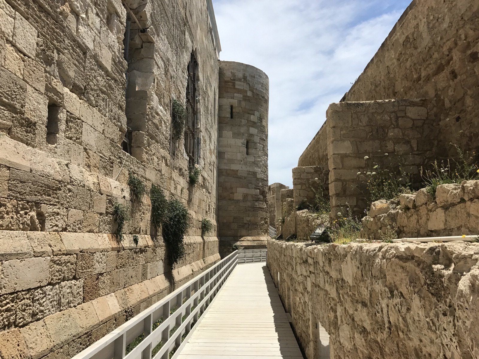 Passaggio castello Maniace