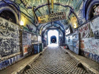 Forte Prenestino tunnel entrata