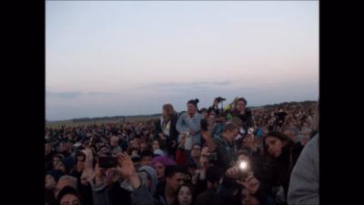 people a stonehenge