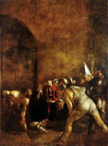 seppellimento di santa Lucia Caravaggio