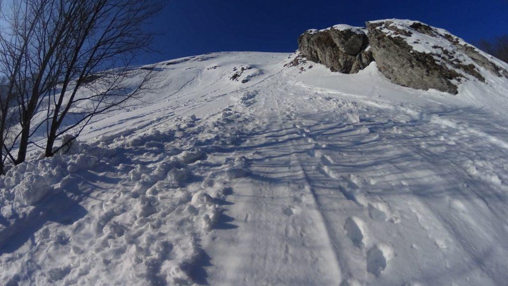 canale Nord del monte Corchia