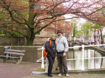 Delft lungo i canali