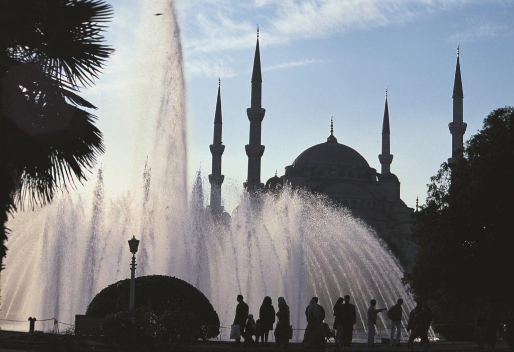 Moschea di Sultan Ahmet a Istanbul