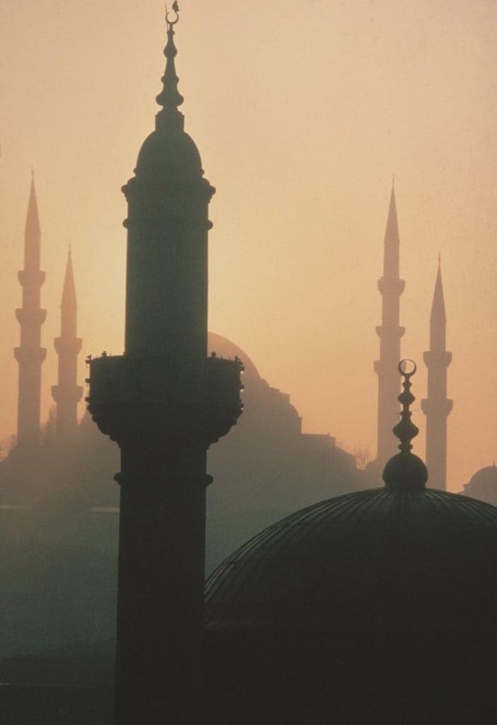 I profili delle moschee ad Istanbul