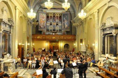 massarosa - interno della chiesa di Corsanico