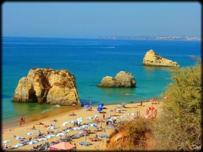 Spiagge e scogliere dell'Algarve