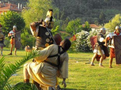 massarosa romana - spettacolo in costume