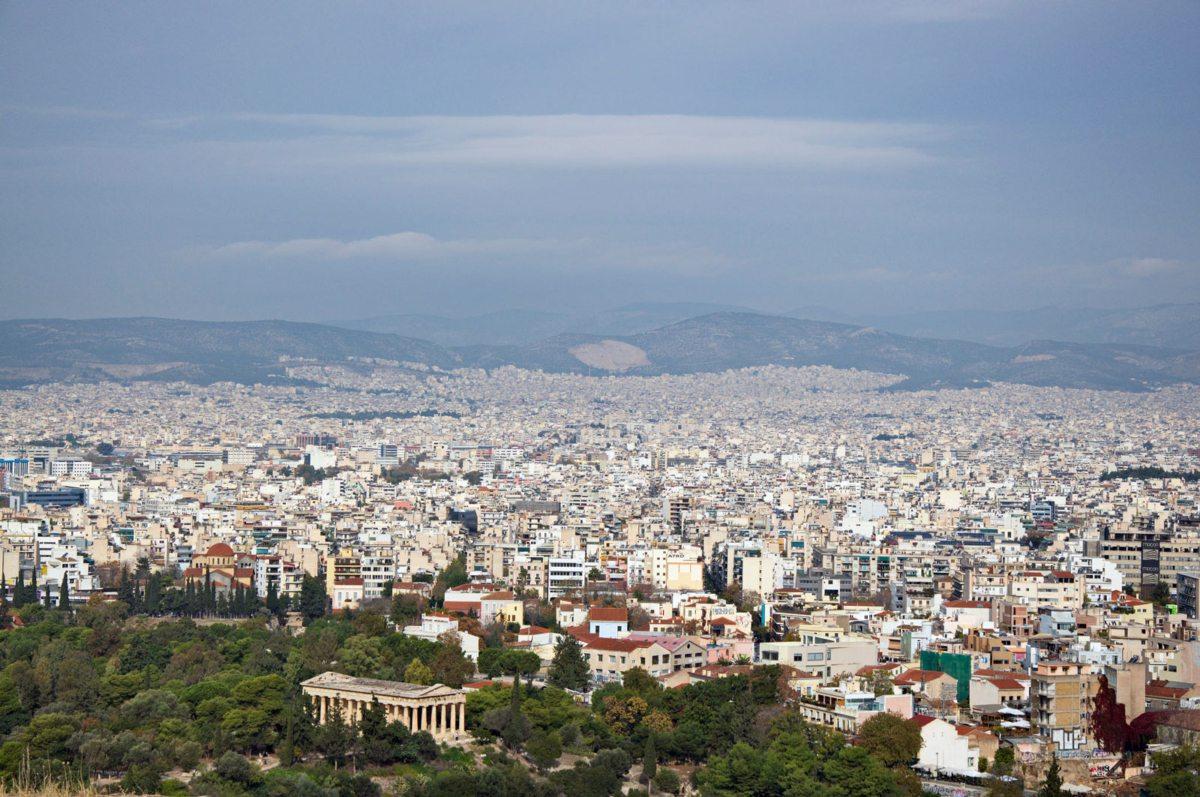 panoramica di Atene