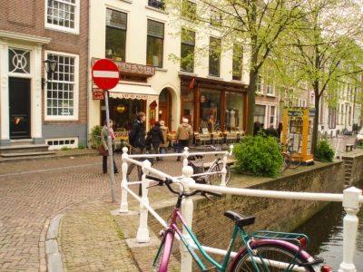 per le vie di Delft