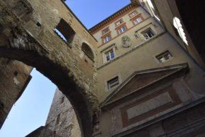 perugia - palazzi del centro storico