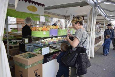 perugia - tra gli stand di Eurochocolate