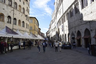 EuroChocolate per le strade del centro di Perugia