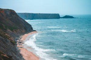 le scogliere dell'Algarve