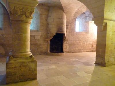 abbazia di Senanque interni