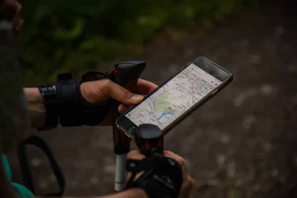 Lo zaino perfetto - app delle mappe