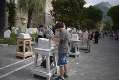 carrara marmo sculture accademia