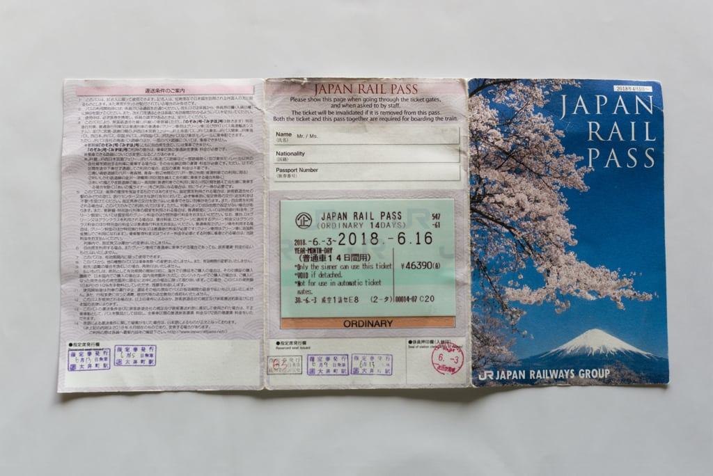 Japan Railway Pass