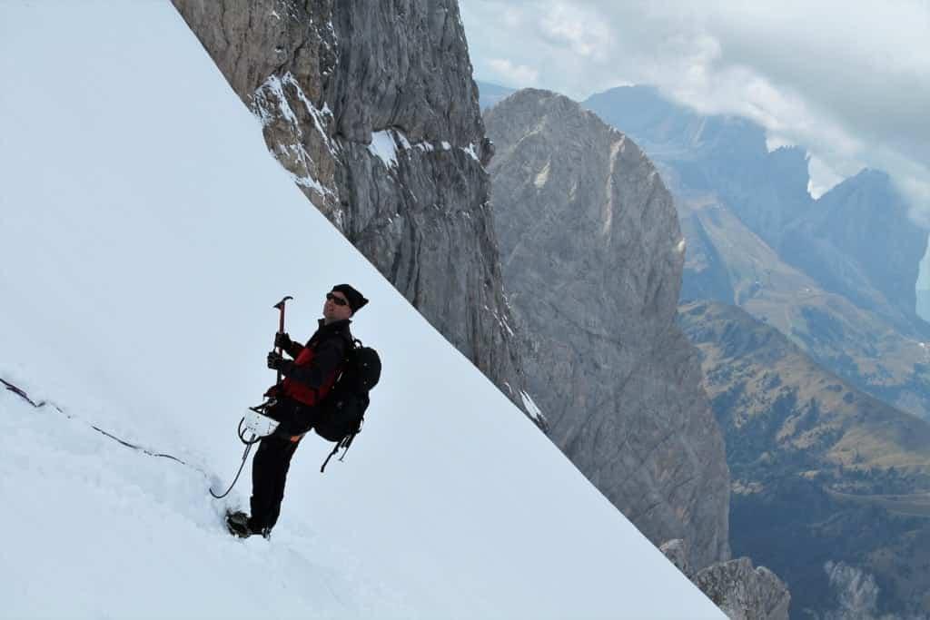 Marmolada - scalata in verticale