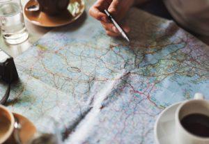 Vivere viaggiando - maps