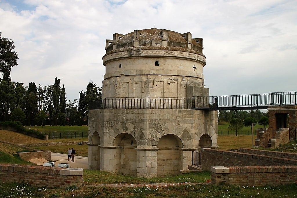 Pianta del Mausoleo di Teodorico a Ravenna