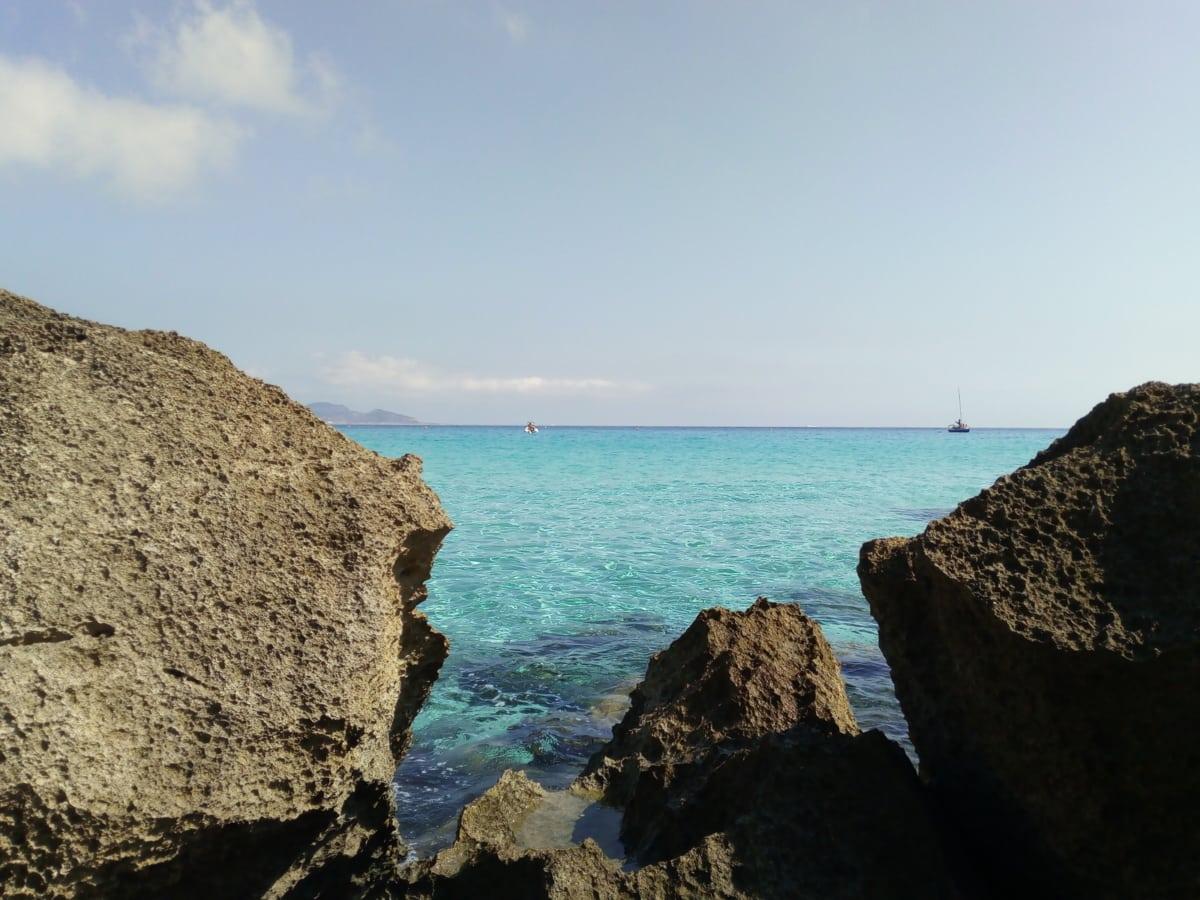 Favignana isola Cala Rossa
