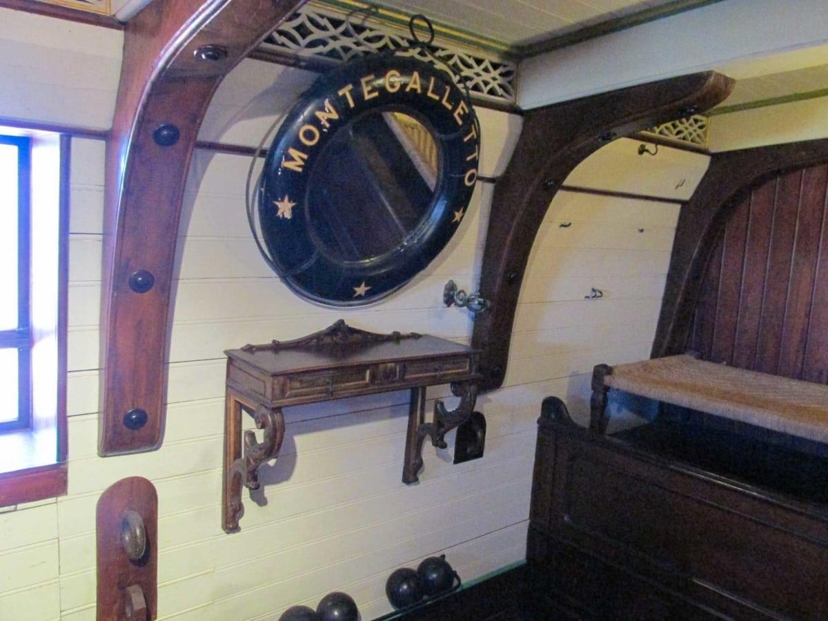 castello d'albertis camera da letto del capitano