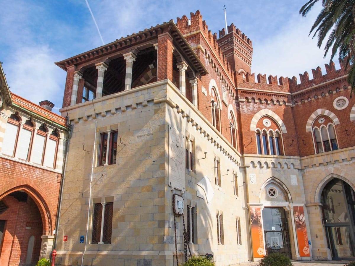 castello d'albertis entrata