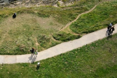 dalla cima del faro di Pointe Saint Mathieu