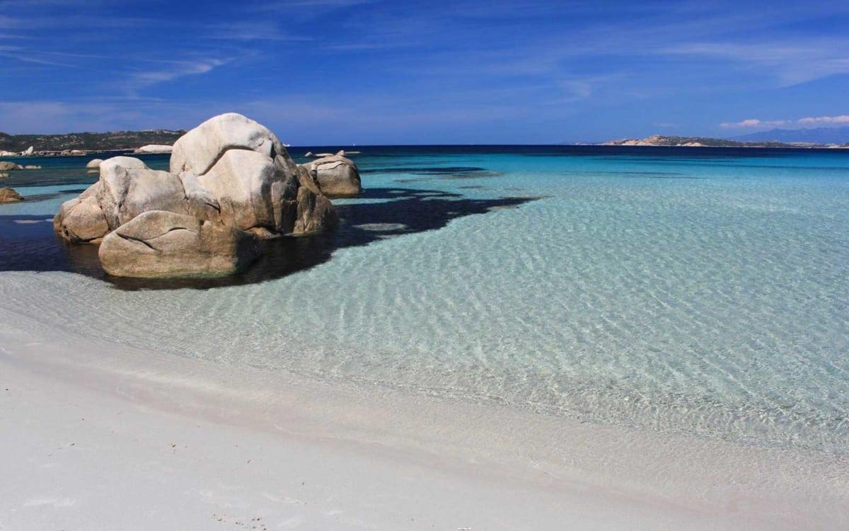 Spiaggia di Bassa Trinità La-maddalena