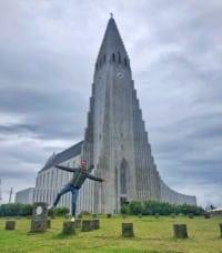 CattedraleHallgrímskirkja Reykjavik Islanda