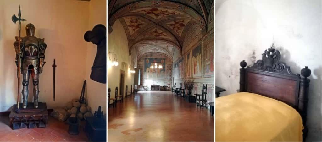 castello malaspina - interni