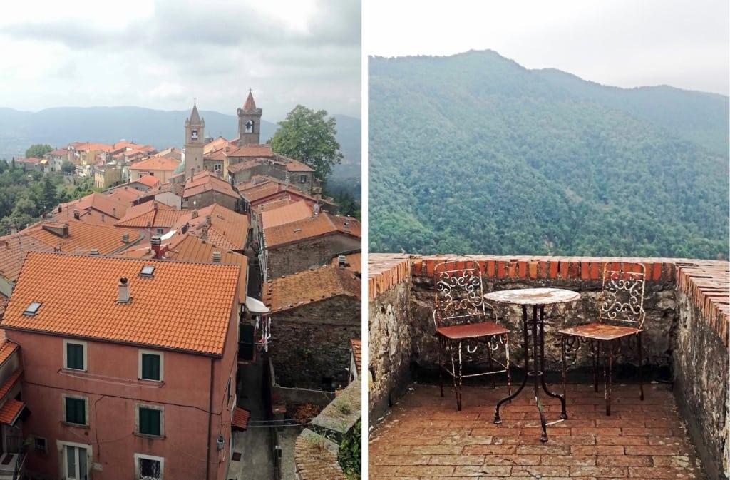 castello malaspina - panorama dalle mura