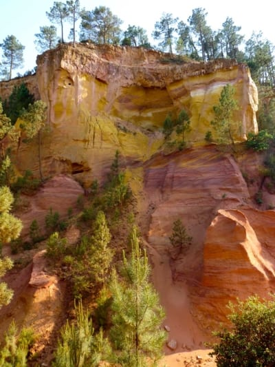 Roussillon sentiero ocra