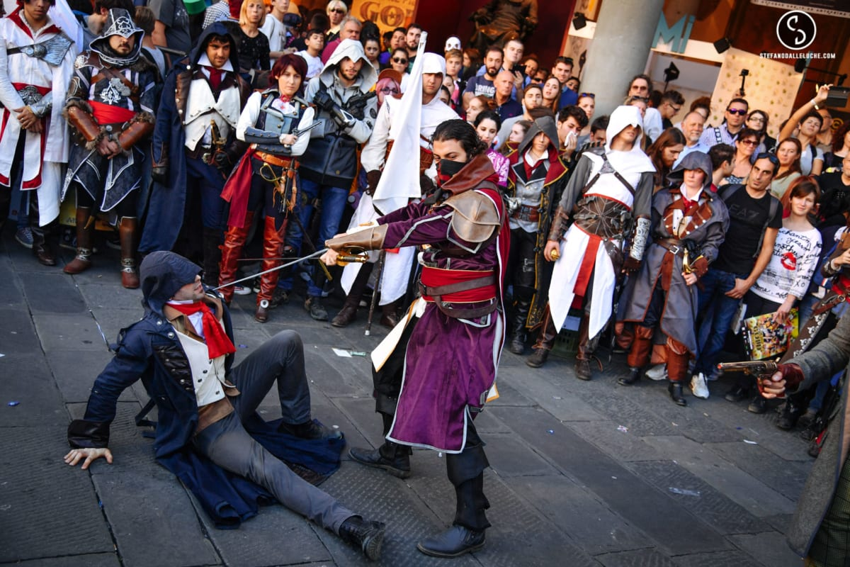 Lucca COMICS assassin's creed