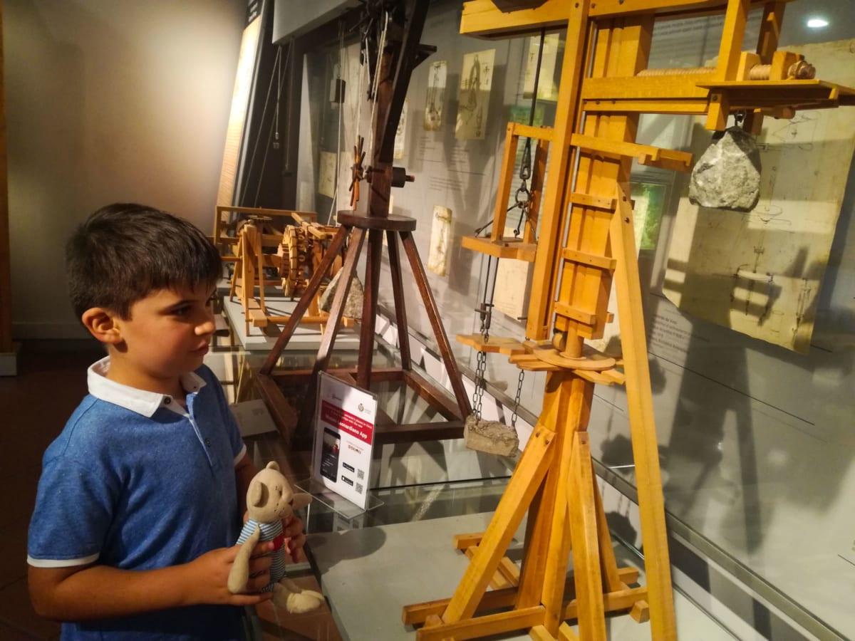Macchine di Leonardo a palazzo ulzielli