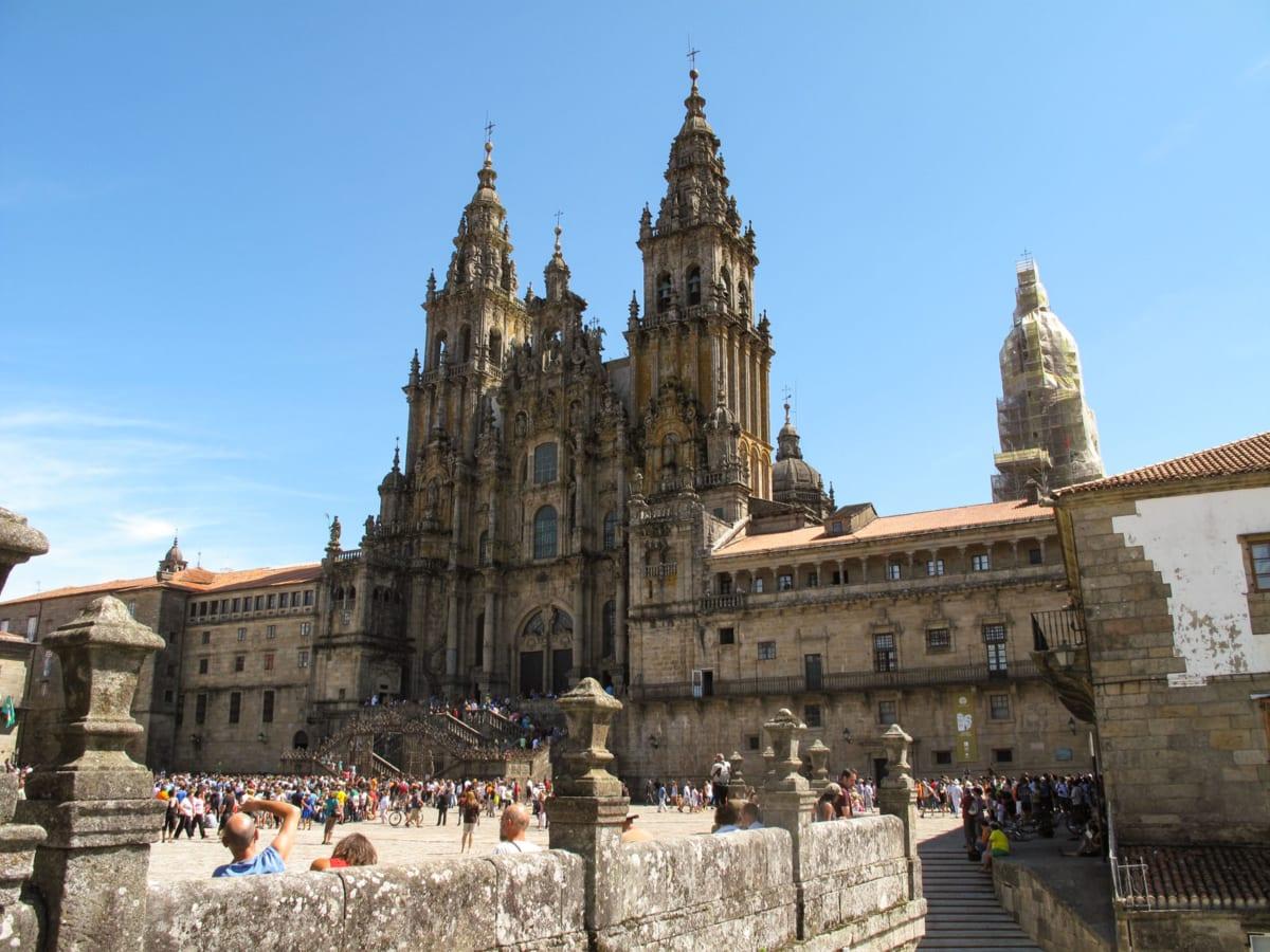 Santiago de Compostela Piazza