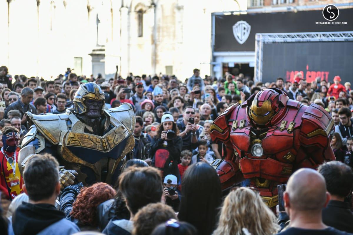 Inaurazione Lucca Comics 2017