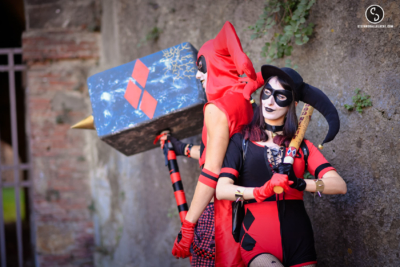 Lucca Comics and Game cosplayer