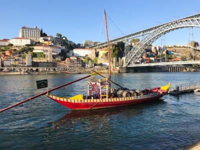 Barca per il trasporto del vino Porto
