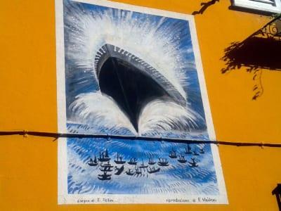 Borgo San Giuliano Fellini murales