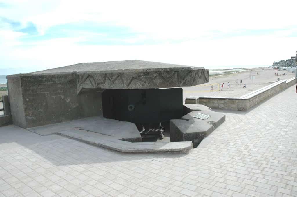 Cannoni Juno beach
