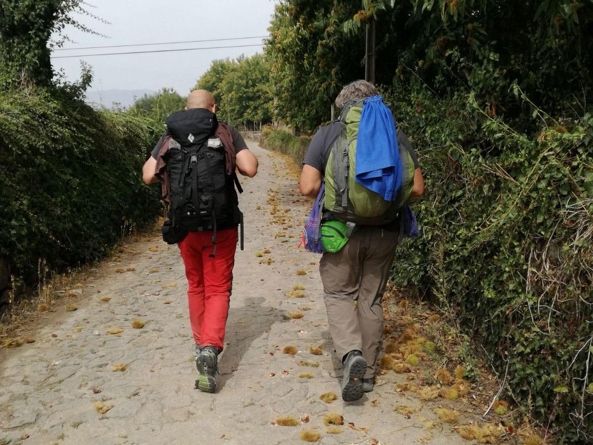 In cammino verso ponte de Lima