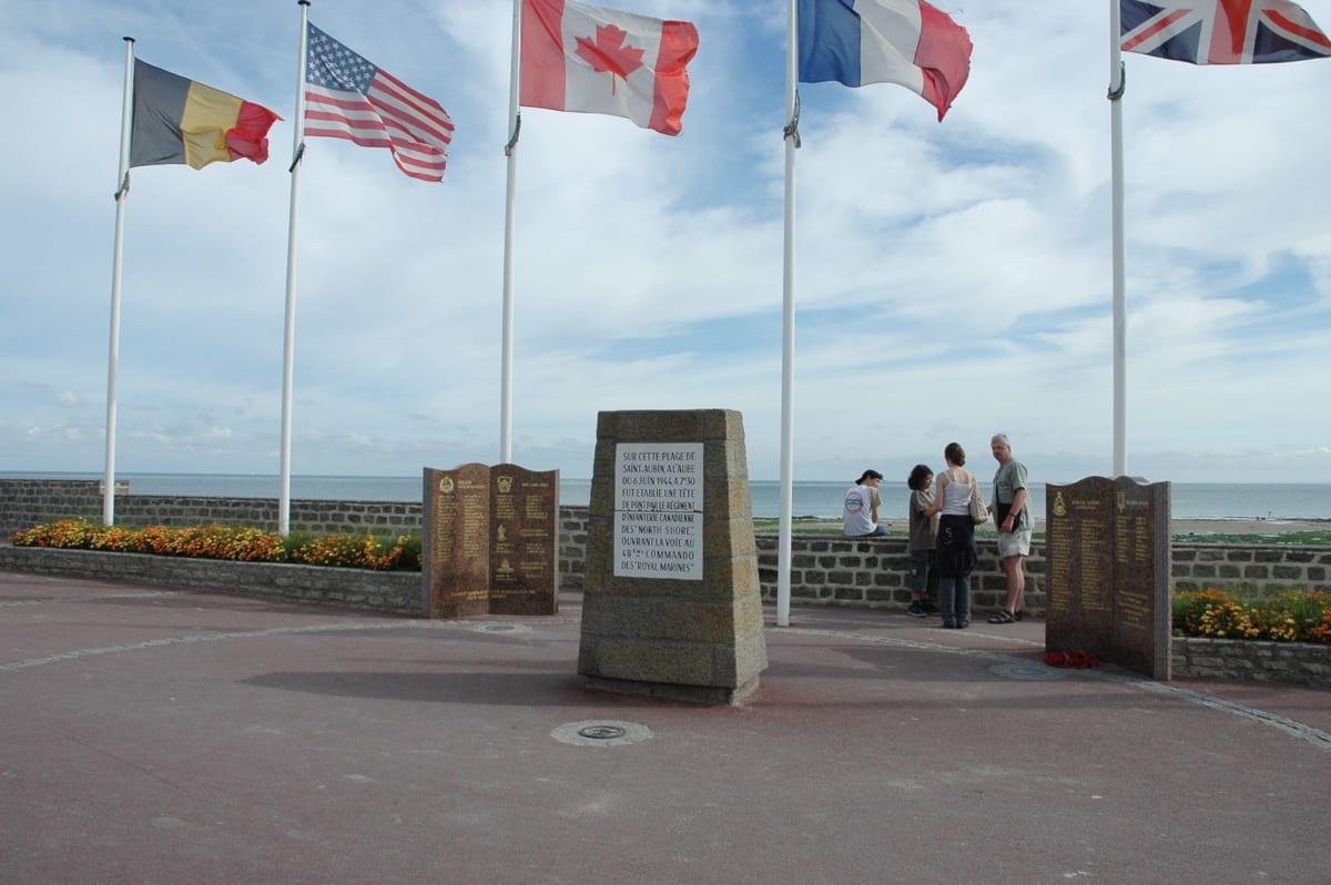 Juno Beach landing beaches