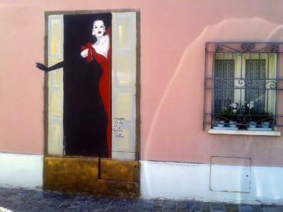 Murales Fellini Borgo San Giuliano