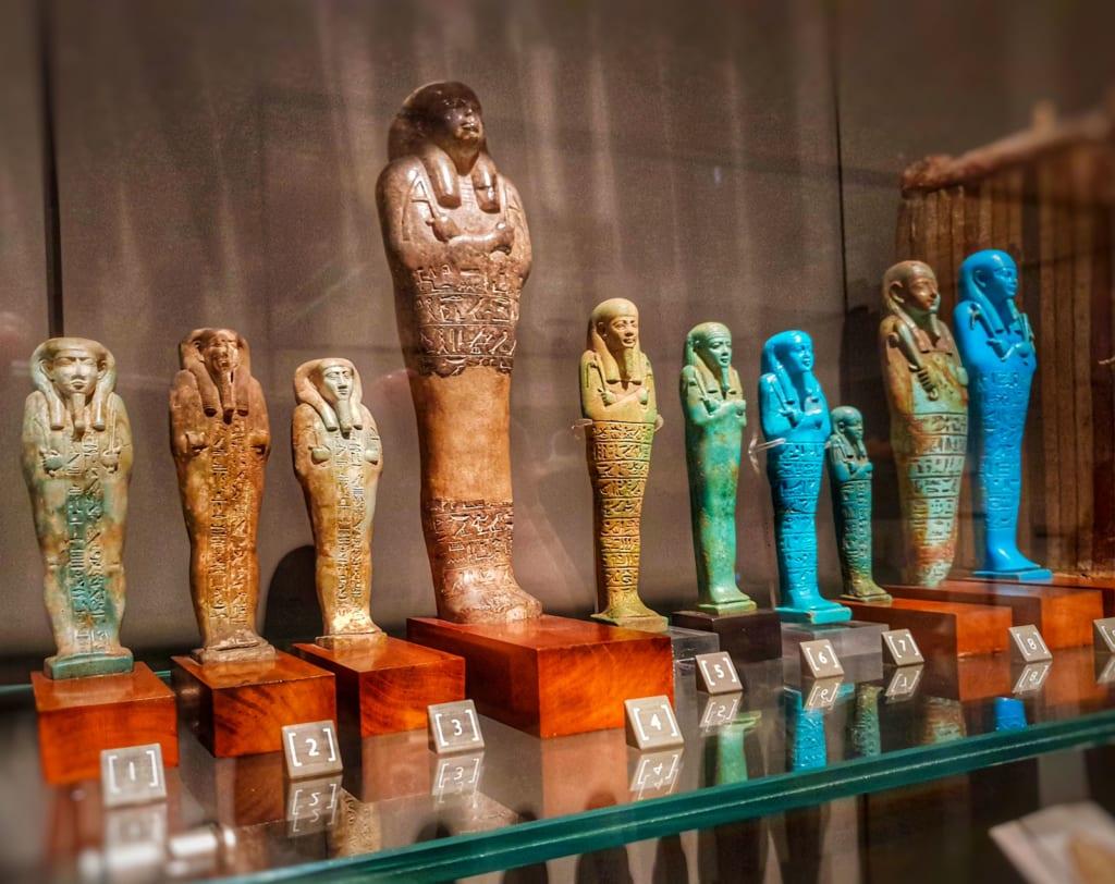 Museo Egizio Torino statuette