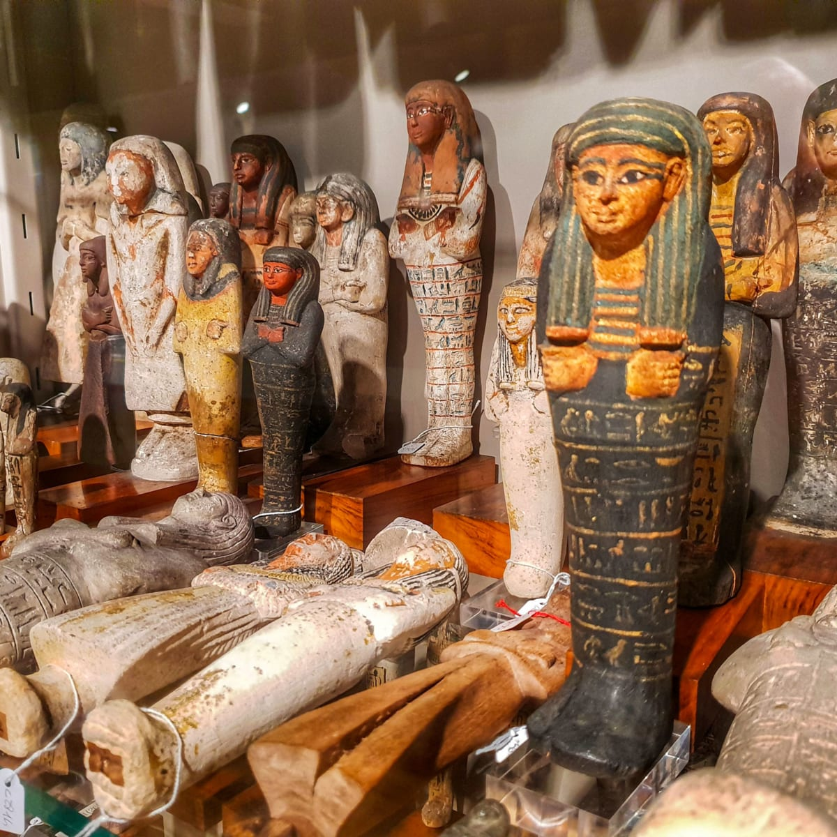 Egyptian Museum Turin statuettes