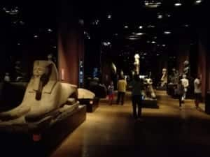Museo egizio di Torino sala dei Re